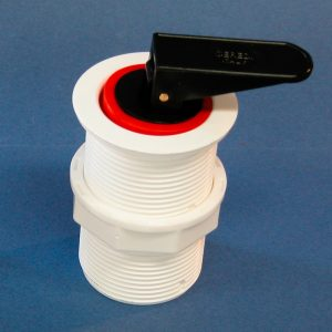 Drain Socket, Diaphragm and Expanding Drain Plug 42mm