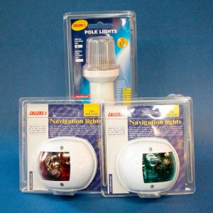 Navigation Light Set - Port, Starboard and All Round White