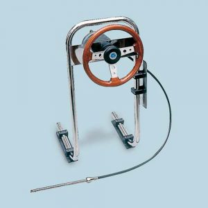 Pedestal Steering System Inc. Helm and Wheel (max 40 hp)