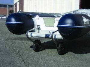 Stainless Air Rib Stern Wheels 100KG Capacity