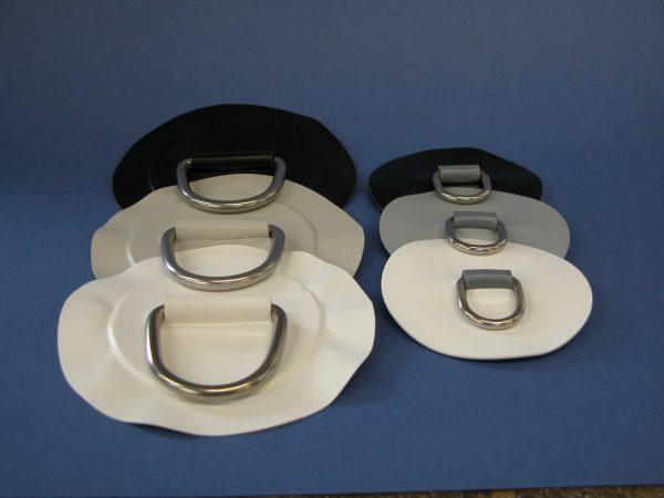 PVC Circular Patch with Eye 100mm x 25mm