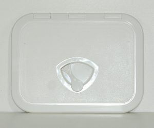 Plastic White Hatch 375mm x 280mm external