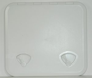 Plastic White Hatch 510mm x 460mm external