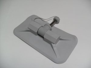 PVC Rowlock with Pin Grey Honwave, QS, Wetline & XM