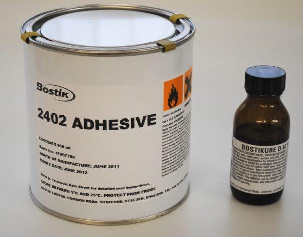 Bostik 2402 Hypalon Two Part Glue