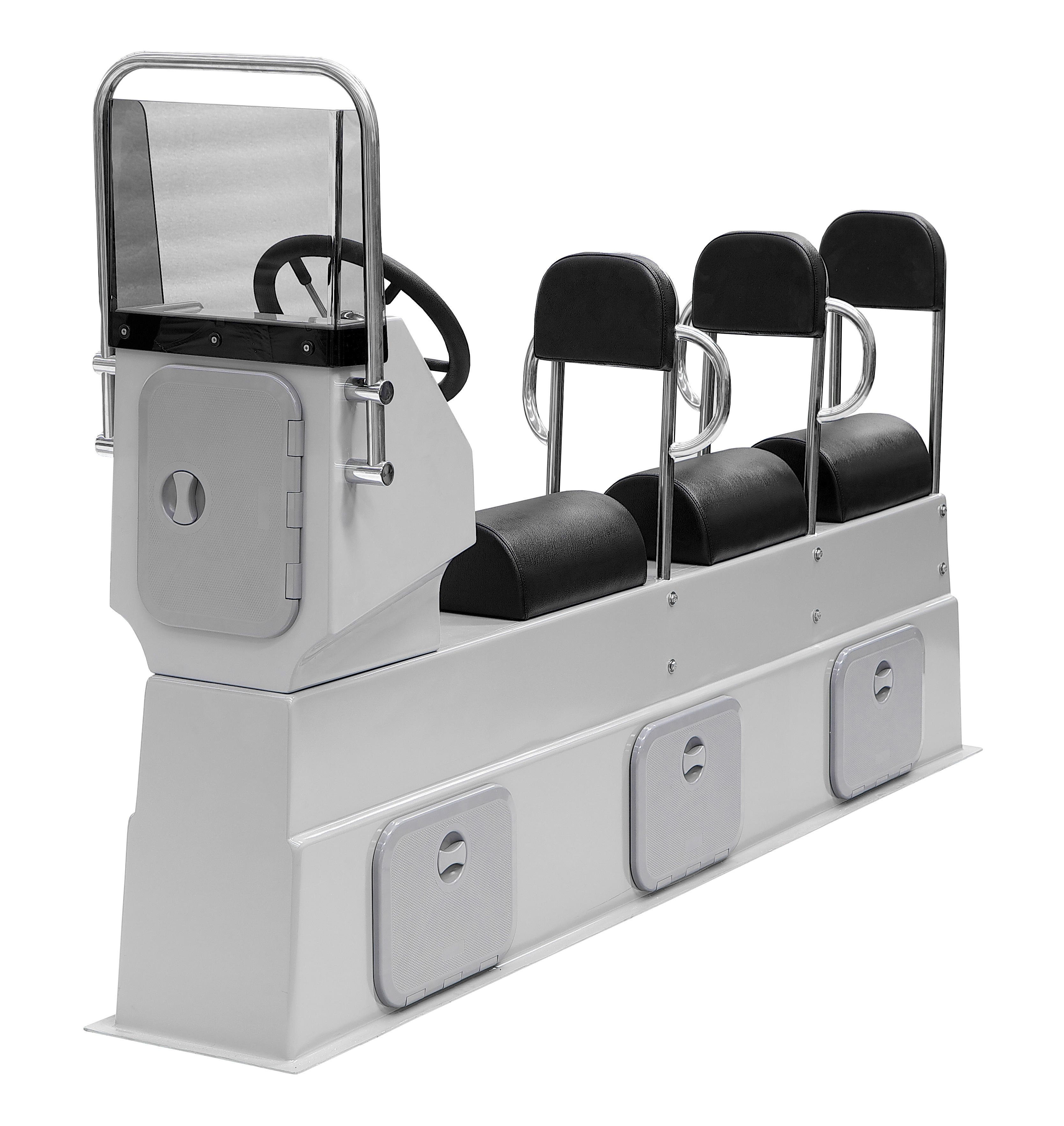 GRP Mounting Modular Console Two & Three People ex Steering