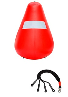 Cone Shaped Inflatable Buoy