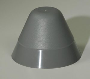 Rubber End Cone 145mm Dia x 100mm