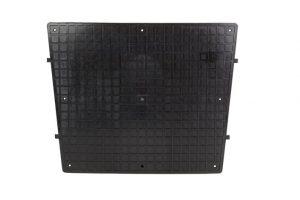 Large Transom Pad Black 430mm x 350mm
