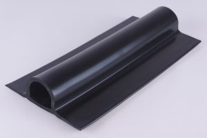 Rubber Heavy Duty D Fendering Black 14cm