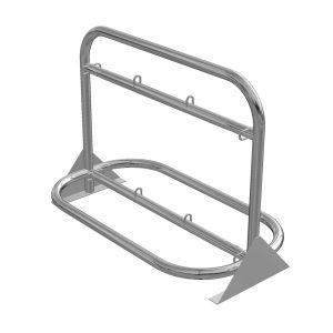 Stainless Steel Bottle Racks 6, 10 & 12